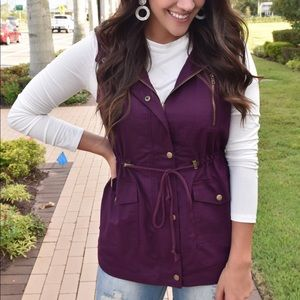 Dark purple Vest